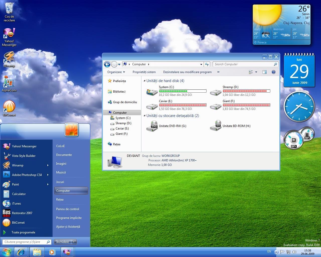Тема Windows XP Luna - Для Windows 7