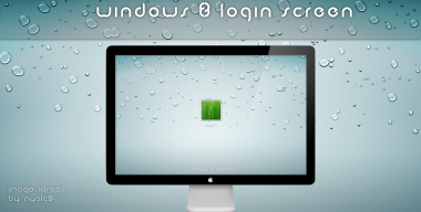 Windows 8 login Screen for 7