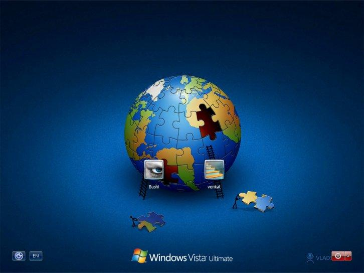 Save the planet logon for xp