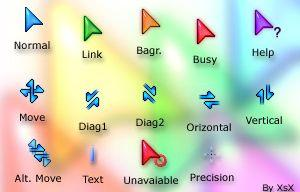 XsX Winxp cursors FULL set
