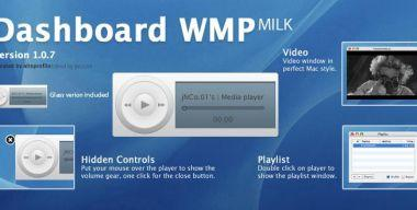 Customized dashboard wmp Milk