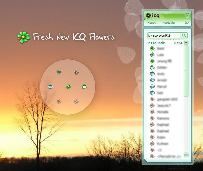 Fresh ICQ 6 Flowers