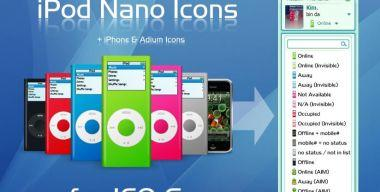 iPod Nano Icons for ICQ 6