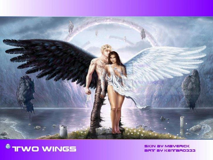 two wings of love