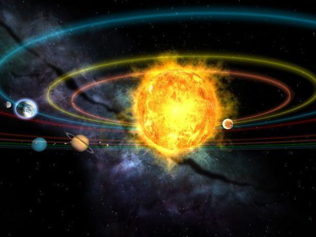 Скринсейвер солнечная система