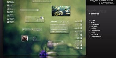 Light Florenza Rainmeter