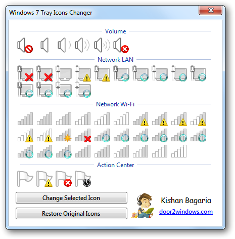 Windows 7 Tray Icons Changer