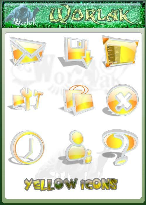yellow icons