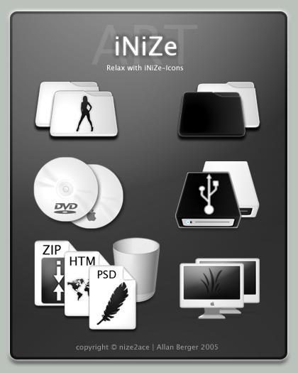 INIZe Icon Pack