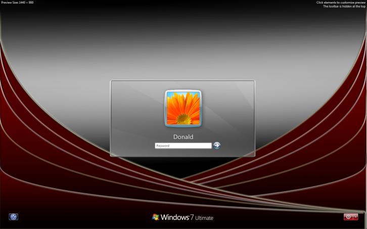 Скачать экраны приветствия для windows 7