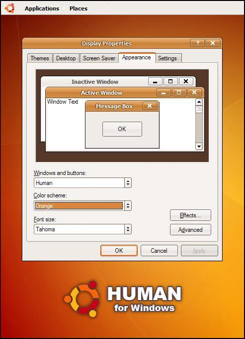 Human for Windows