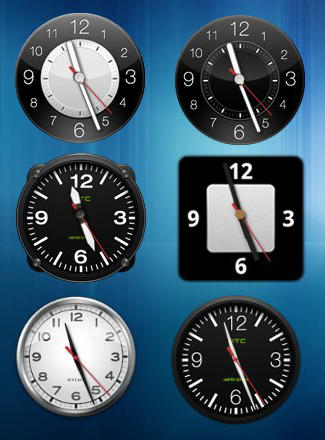 HTC Hero Clock