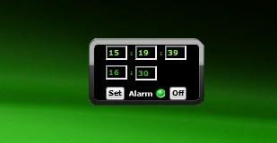 24 Hour Alarm Clock