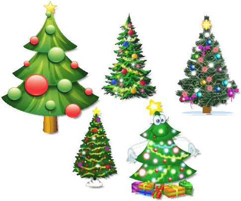 Animated Christmas Tree for Desktop - 2011