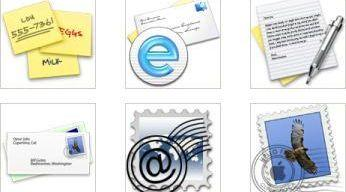 mail service png icons