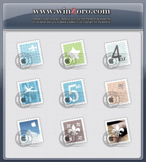 Stamps by Hirogen