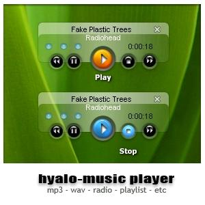 Hyalo-MusicPlayer