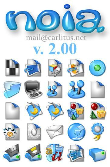 Иконки для IconPackager - Noia