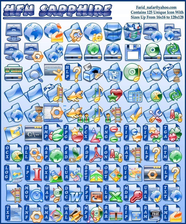 коллекция иконок для windows: