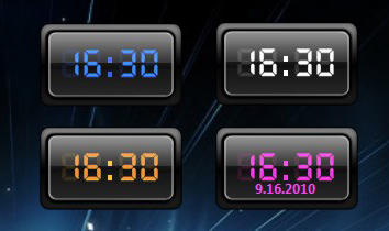 - CX Digital Clock