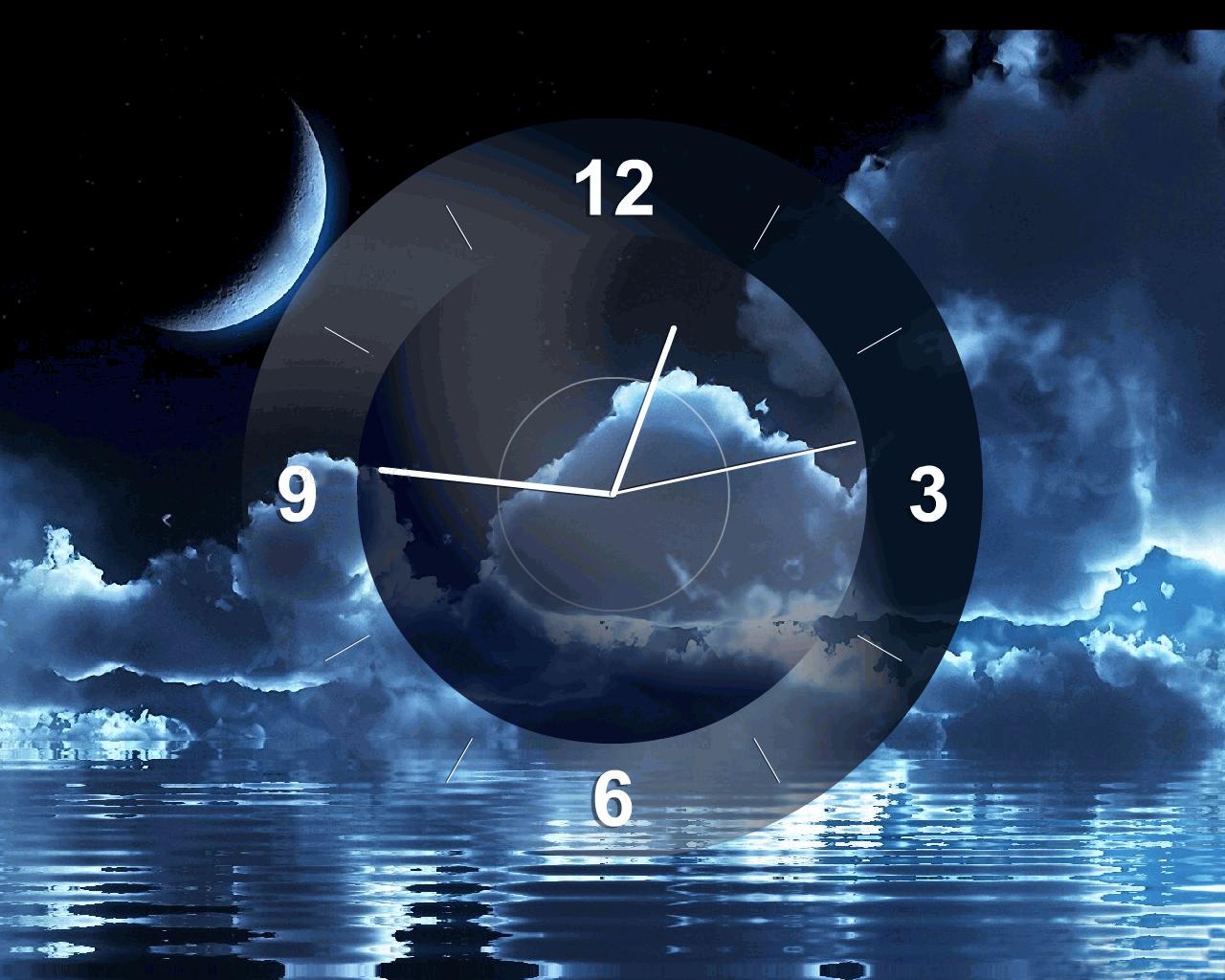 Часы облака заставка на рабочий стол 24 фотография