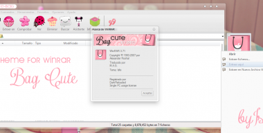 Tema de Winrar CUTE BAG