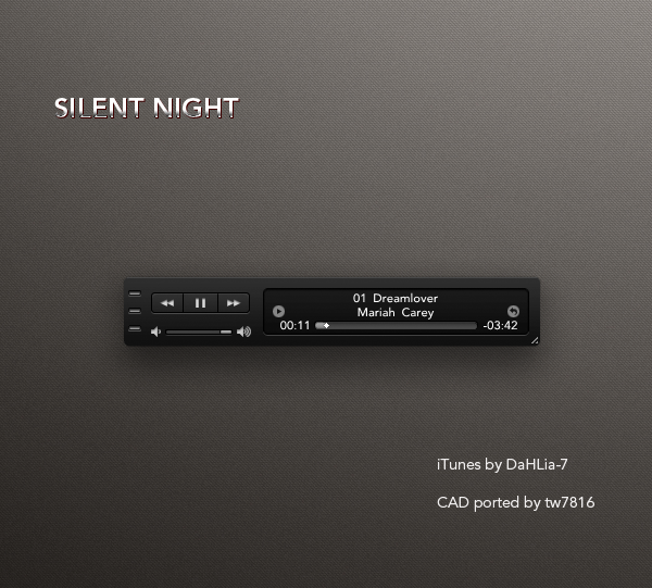 Silent Night iTunes for CAD