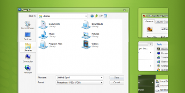 Clearscreen for windows 7