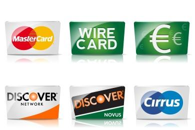 - Credit Card Icons