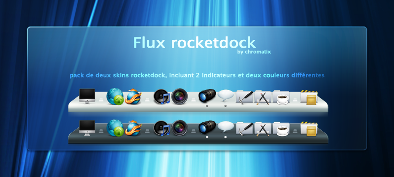Rocketdock скины