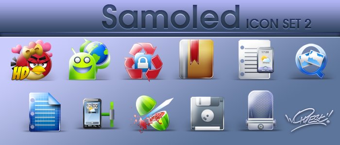 Samoled set 2