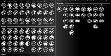 Black Ops Icons and Extension