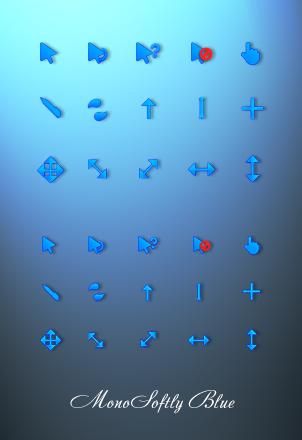 MonoSoftly Blue