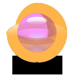 sphere-256-orange-pink