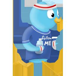 spring-jogger-follow-me
