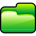 folder-open-green