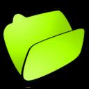 folder-lime-open