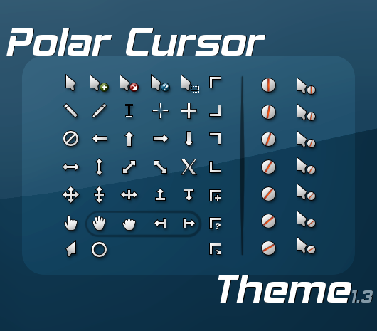Polar cursor theme 1.3