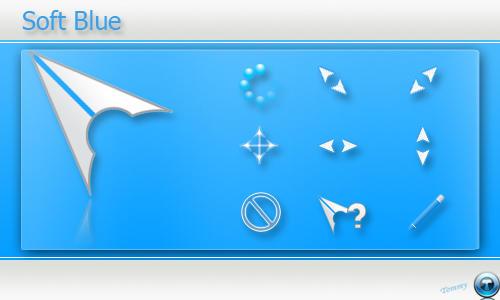 Soft CursorFX Blue