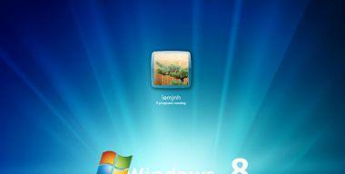 windows 8 logon for xp