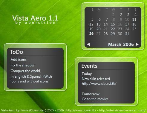 Vista Aero 1.1