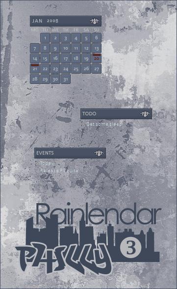 Philly 3 - Rainlendar