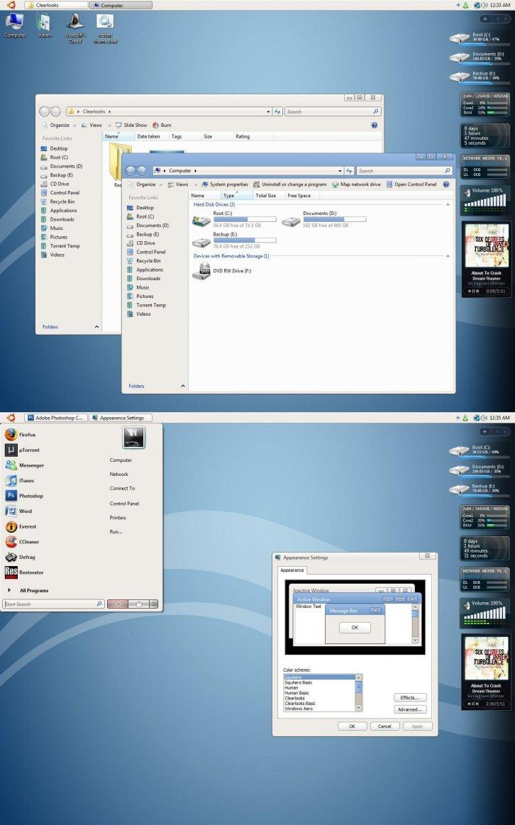 Clearlooks for Vista Beta 1.1