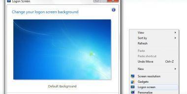 Logon Screen fir Windows 7 + Russian