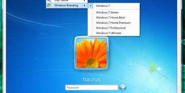 Windows Logon Editor