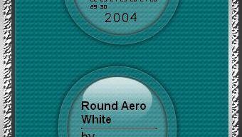 Round Aero White