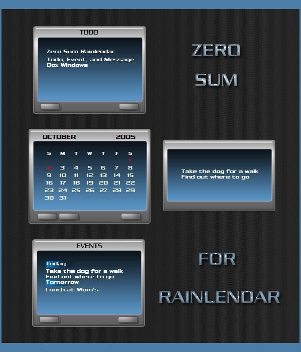 Zero Sum Rainy
