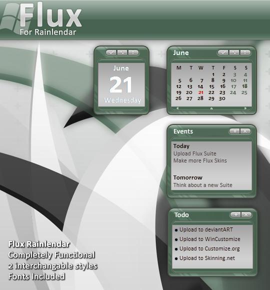 Flux Calendar