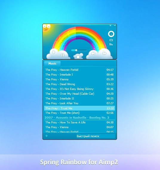 Spring Rainbow for Aimp