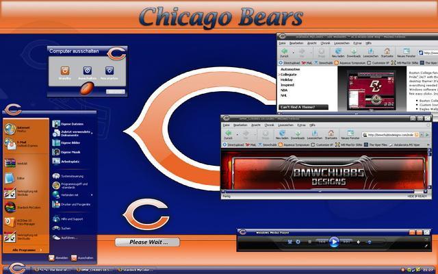 Chicago Bears WindowBlinds
